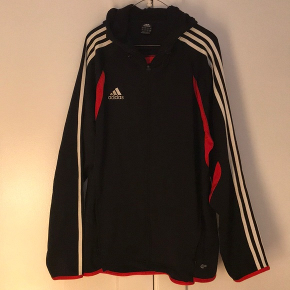 87f992b6208 adidas Jackets & Coats | Clima Warm Hooded Soccer Jacket L | Poshmark